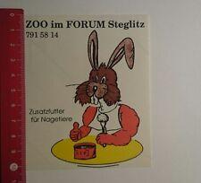 Pegatina/sticker: zoo en el foro Steglitz adicional forraje para los roedores (231216111)