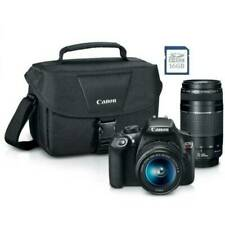 Canon Eos Rebel T6 18Mp Digital Dslr Camera (Kit with 18-55mm/75-300mm Lenses) …