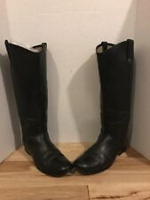 Women's Frye Melissa Button Boots Pull On Black size 9 B *replaced Button
