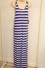 NWT Hula Honey  Swimsuit Cover Up Maxi Dress Blue Size Large