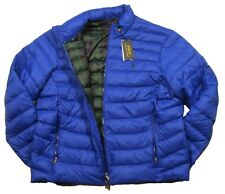 Polo Ralph Lauren Men's Sapphire Star Blue Packable Quilted Down Zip Jacket