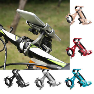 Universal Aluminum Bike Bicycle Phone Holder Mount Handlebar For Cell Phones Hot
