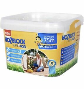 Hozelock 7.5m Superhoze Expanding Hosepipe Garden Hose  8207