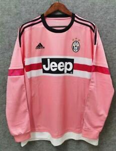 Juventus 2015 2016 Away long sleeve Retro Football Jersey vintage Shirt