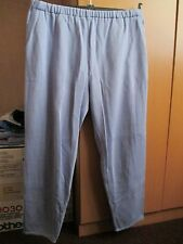 Ladies long trousers with pockets-size L