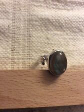 Labradorite Ring.Silver 925.Size S.