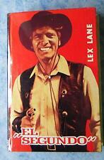 Lex Lane El Segundo Leihbuch Western ca. 1960 Paul Feldmann TOP-Zustand wie neu