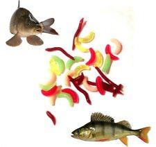 Finta Esca Artificiale Larve MIGNOLI Bloodworm CARPA TINCA Roach pesce persico