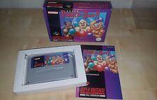 Super Punch Out-Super Nintendo Snes Juego-Completo & en Caja-Pal