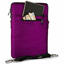 "9.7"" 11.6"" Purple Laptop Sleeve Pouch Bag Case Cover for  Dell Inspiron 11"