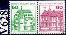 Berlín 1980: castillos y no! juntos presión nº W 77, correos fresco! 1a!