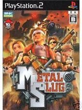 METAL SLUG PS2  PlayStation 2 Import Japan SNK