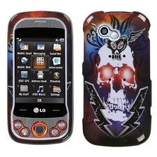 Lightening Skull Hard Case Cover for LG Neon II GW370