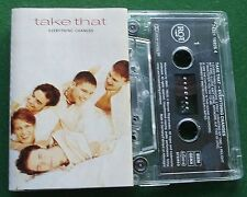 Take That Everything Changes inc Relight My Fire + Cassette Tape - TESTED
