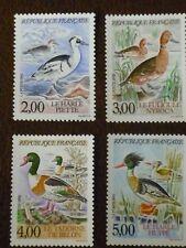 France 1993 Ducks  set of 4  vf mint never hinged SG 3108 - 3111