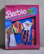 BARBIE SKI FUN FASHIONS MISB MATTEL 1990 MADE IN CHINA