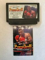 Mike Tyson's Punch Out Nintendo Famicom Sports Game Tested Cleaned pins Japan