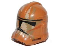 LEGO STAR WARS Helmet Clone Trooper with Tan and Dark Tan Camouflage Pattern NEW