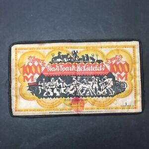 GERMANY BIELEFELD NOTGELD 1000 MARK 1922 Banknote of Fabric Linen silk