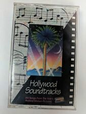 HOLLYWOOD SOUNDTRACKS  Cassette Tape  Whitney Tina Gloria Roy Boy George Carly