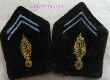 IN13884 - INSIGNE TISSU de col officier des Transmissions