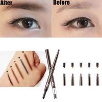 Beauty Cosmetic Automatic Rotating Eyeliner Eyebrow Pen Eye MakeUp Sweat-proof