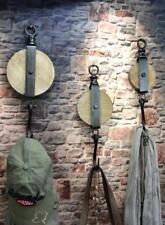 Wandhaken Haken Flaschenzug Metall Industrie Design Vintage Loft LV5095
