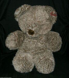 "16"" VINTAGE DAN DEE SPECIAL TOUGH BROWN TEDDY BEAR STUFFED ANIMAL PLUSH TOY BIG"