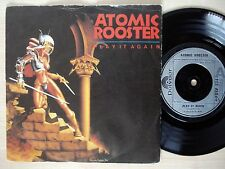 """Atomic Rooster Play It Again A//1 B//2 UK 7"""" Polydor POSP 334 1981 NM"""