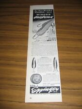 1946 Print Ad Winged & Feathered Dardevle Fishing Lures Lou Eppinger Detroit,MI