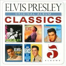 Original Album Classics [Digipak] by Elvis Presley (CD, 2013, 5 Discs) Sealed