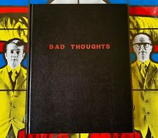 GILBERT and GEORGE: 'BAD THOUGHTS' HARDBACK EXHIBITION CATALOGUE BOOK -NEW