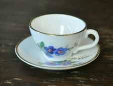 CAVERSWALL Tiny Miniature Cup and Saucer Duo Set - 2cm Tall