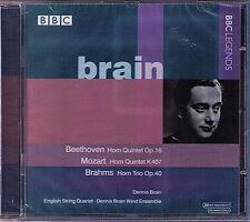 Dennis BRAIN: BEETHOVEN DUKAS MARAIS MOZART BRAHMS Horn Chamber Music CD BBC