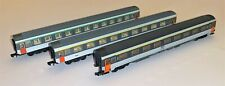 3 x Arnold N Gauge Corail Passenger Carriages of the SNCF