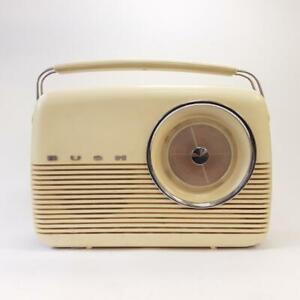 Bush TR82D Transistor Radio Vintage 9V Beige Untested Spares/Repairs