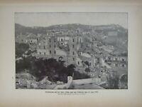 1903 Natürlich Geschichte Aufdruck Casamicciola