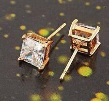 Premier Designs 9K Yellow Gold Filled Cubic Zirconia Stud Earrings F2447