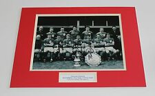 LIVERPOOL Yeats Callaghan Smith HAND SIGNED Autograph Photo Mount + COA Proof