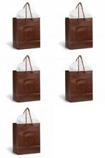 5 Pack United Parcel Service Ups Brown Collectible Gift Wrap Party Gift Bags