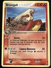 Carte Pokemon BRASEGALI 15/109 Rare Rubis & Saphir Bloc ex FR NEUF