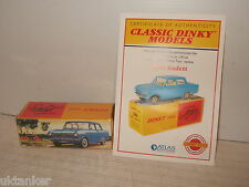 Atlas New Sealed Dinky Toys No 540 Opel Kadett and Certificate