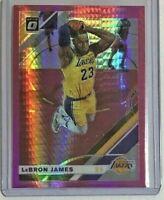 Lebron James *Hyper Pink* 2019-20 Donruss Optic 🏀 Los Angeles Lakers