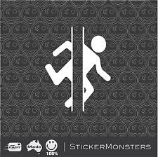 Portal 2 PRO Cut Vinyl Stickers  Car Van Truck Ps3 Xbox iPad Laptop JDM
