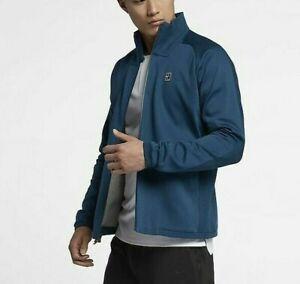 NIKE Tech Fleece Premium Cotton MEN'S TENNIS JACKET Size M Standard Fit