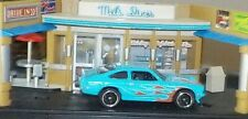 HOT WHEELS Loose Custom V8 Vega (Sky Blue Version)