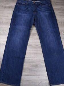 Lucky Brand 361 Vintage Straight Blue Denim Jeans Men's Size 38x34