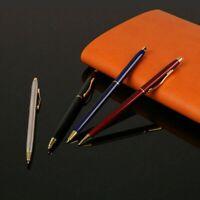 Luxus Metall Kugelschreiber 1mm Schwarz Tinte Gel Stift Büro Schreiben
