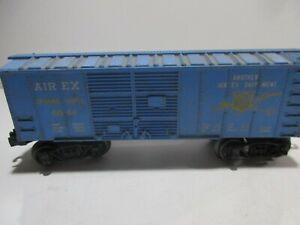 Lionel Train #6044 Blue Air Shipment Box Car Toy Train Parts