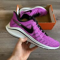 NIKE AIR ZOOM VOMERO 14 PURPLE RUNNING TRAINERS SHOES SIZE UK6 US7 EUR39 CM24.5